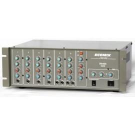 ECOMIX R6400 6 kanal eko reverb 300W power mikser