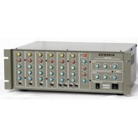 ECOMIX R6800 6 kanal eko reverb 2x300W power mikser