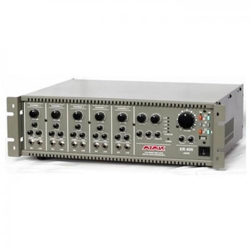 ER406  5 kanallı, kolay kullanımlı eko ve reverbli 400W MP3 çalıcı