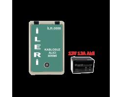 MRT-3000 UHF Akülü Alıcı